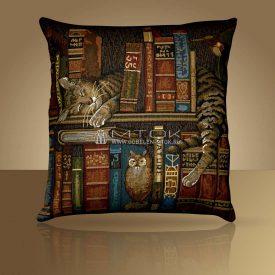 "Чехол на подушку ""Библиотекарь"""