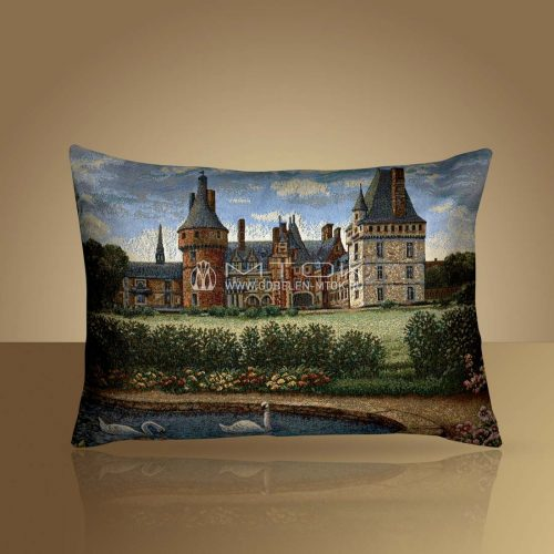 Декоративная наволочка, чехол на подушку Легенды Франции