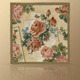 Салфетка из гобелена Нежные розы