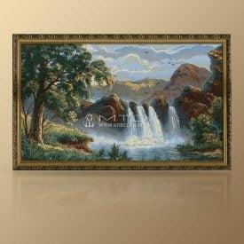 """Картина из гобелена """"Водопад"""""""
