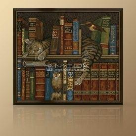 "Картина из гобелена ""Библиотекарь"""