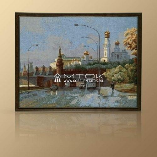 "Картина из гобелена ""Набережная Москвы"""