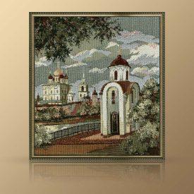 """Картина из гобелена """"Церковь Святой Ольги"""""""