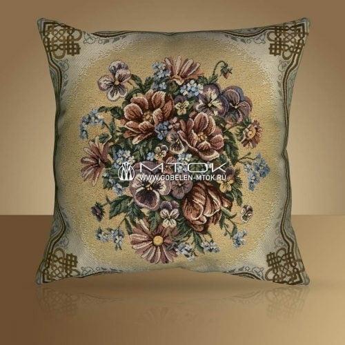 "Чехол на подушку ""Любимые цветы"""