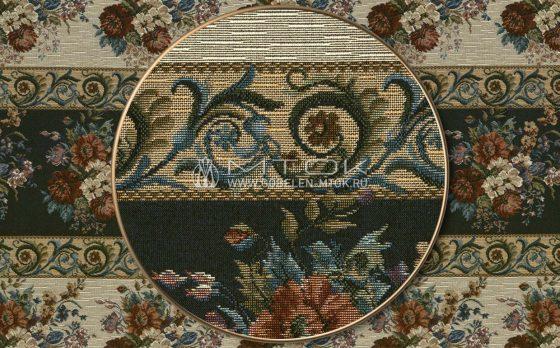 На фото: Жаккардовая ткань гобелен «Цыганский»