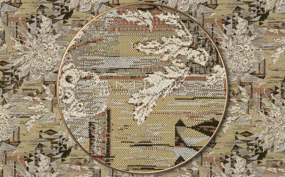 Жаккардовая ткань «Кристаллы»
