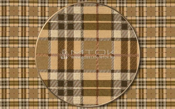 Жаккардовая ткань «Шотландка»