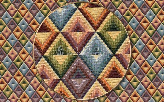 Жаккардовая ткань «Калейдоскоп»