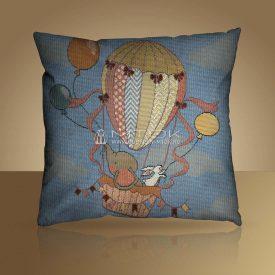 "Чехол на подушку ""Воздушный шар"""