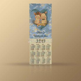 """Календарь из гобелена на 2019 год """"В облаках"""""""