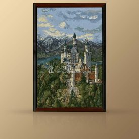 """Картина из гобелена """"Замок"""""""