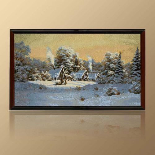 """Картина из гобелена """"Зима"""""""
