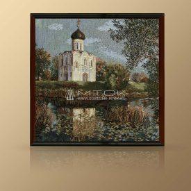 "Картина из гобелена ""Церковь Покрова на Нерли"""