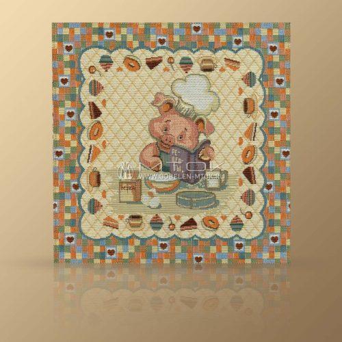Салфетка из гобелена для детского стола