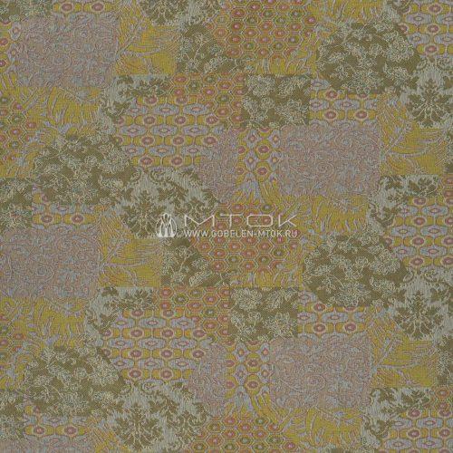Мебельная ткань шенилл Пэчворк