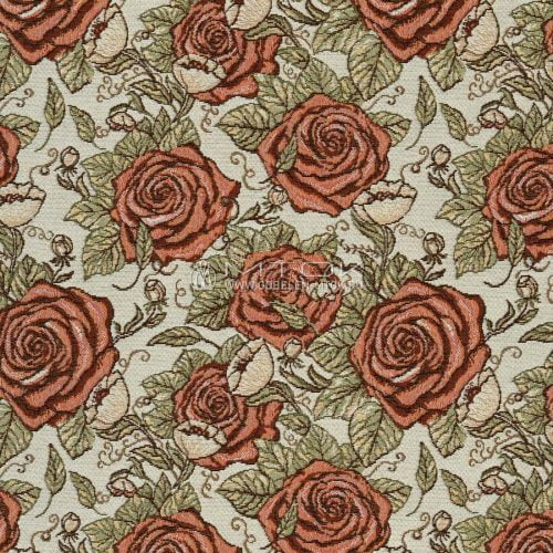 """Ткань жаккардовая """"Графические розы"""""""