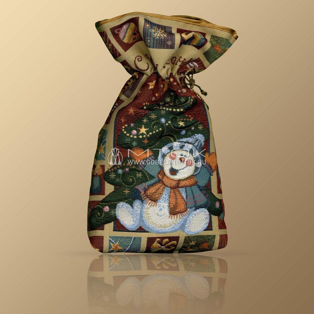 Идеи подарков на новый год детям. Мешочек новогодний «Семейный подарок»