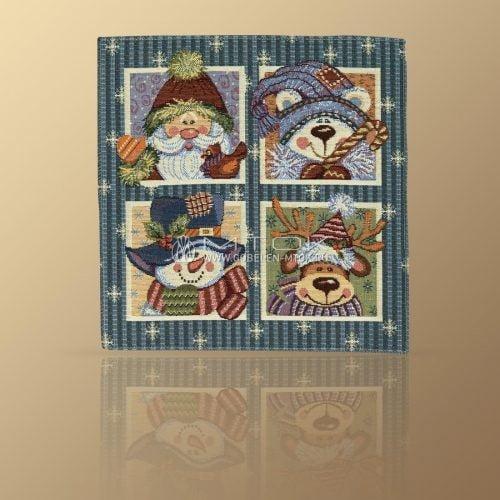 Идеи подарков на новый год детям. Салфетка гобеленовая «Окно в сказку»