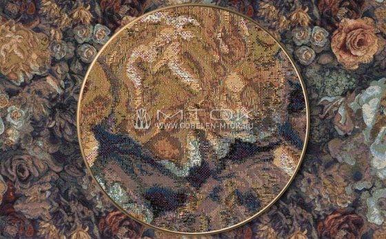 Жаккардовая ткань «Розарий»