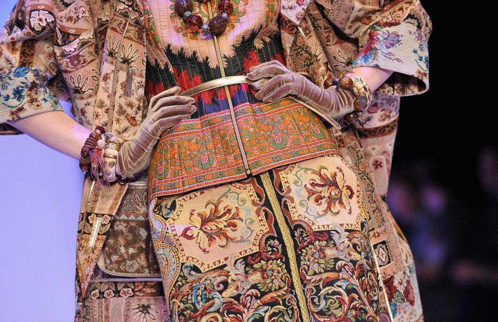 Образ в стиле бохо из коллекции Вячеслава Зайцева