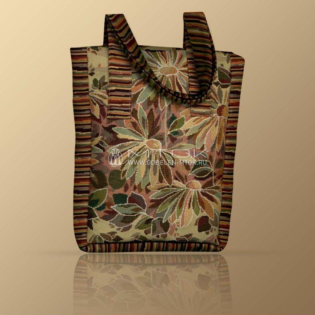 Гобеленовая сумка в стиле бохо «Молодежная»