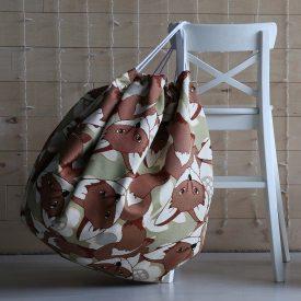 """Коврик-мешок для игрушек из гобеленовой ткани """"Лисята"""" и """"Осеннее настроение"""""""