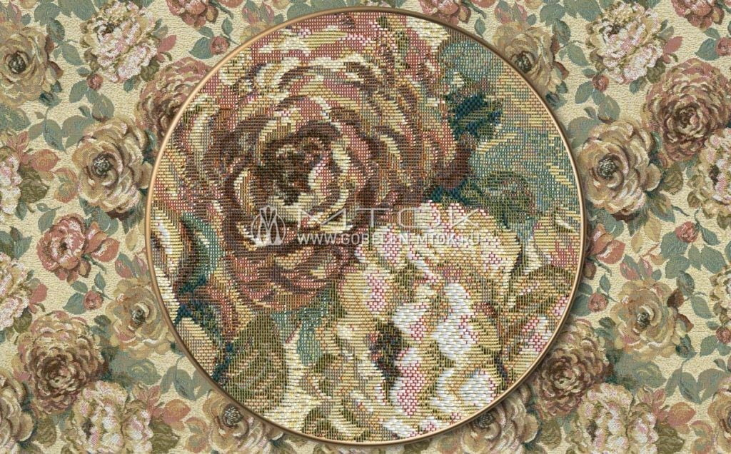 Мебельная обивка «Голландские цветы»