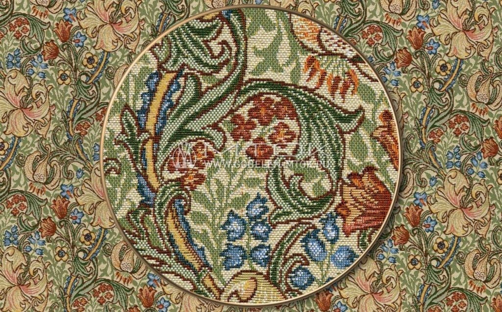 Гобеленовая ткань «Юнона светлая»