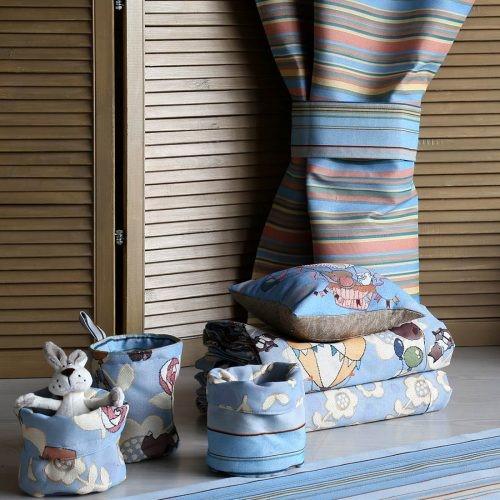 Коллекция детского текстиля и декора «Воздушное путешествие»