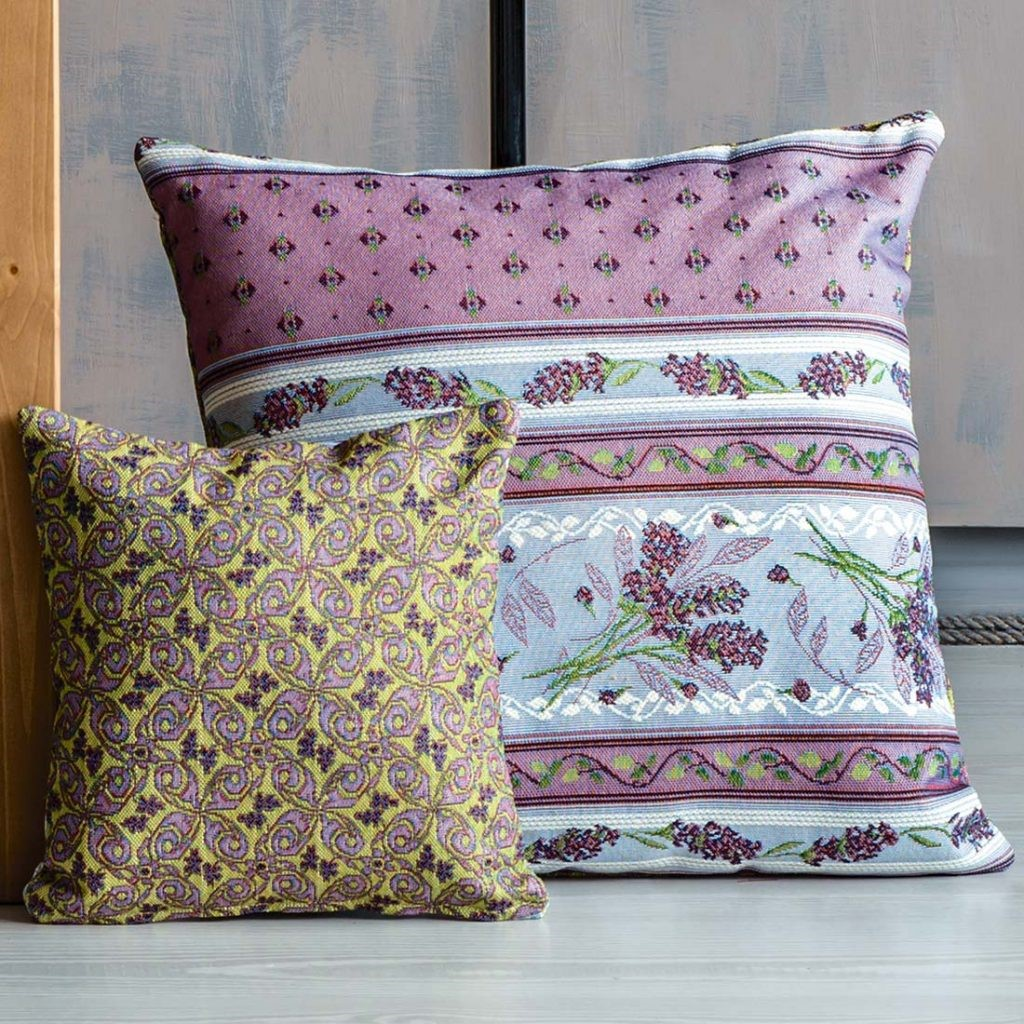 Чехол на подушку из гобелена «Лаванда»