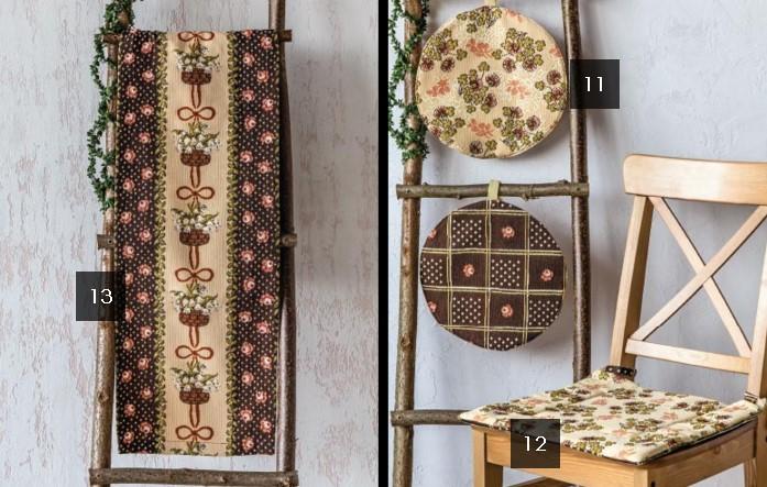 Коллекция детского текстиля и декора «Парижская кухня»