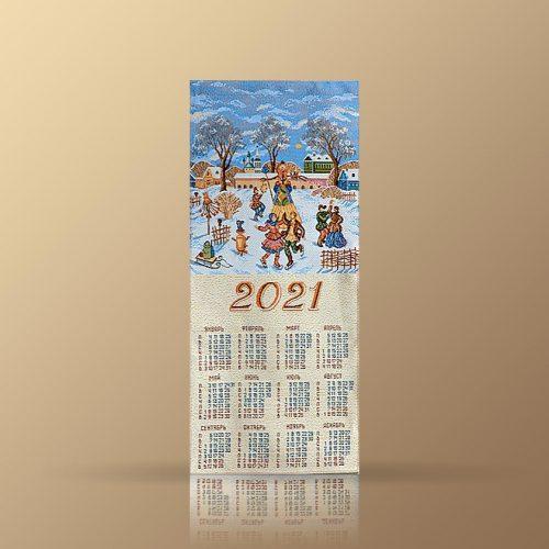 Календарь из гобелена на 2021 год. Ярмарка
