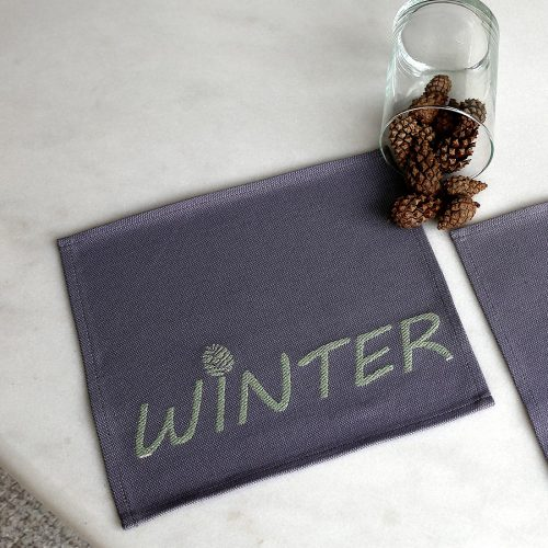 Салфетка Winter (Зима) с метанитом